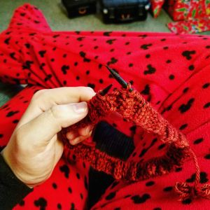 knitting christmas
