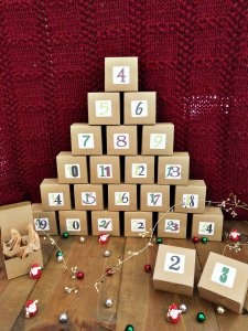 Forbidden Fibe Co Holidays From Around the World Yarn Advent Calendar