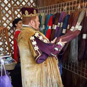 kansas city renaissance festival king yarn