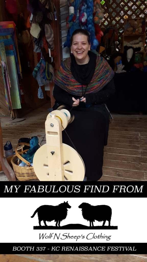 spinning renaissance festival wheel