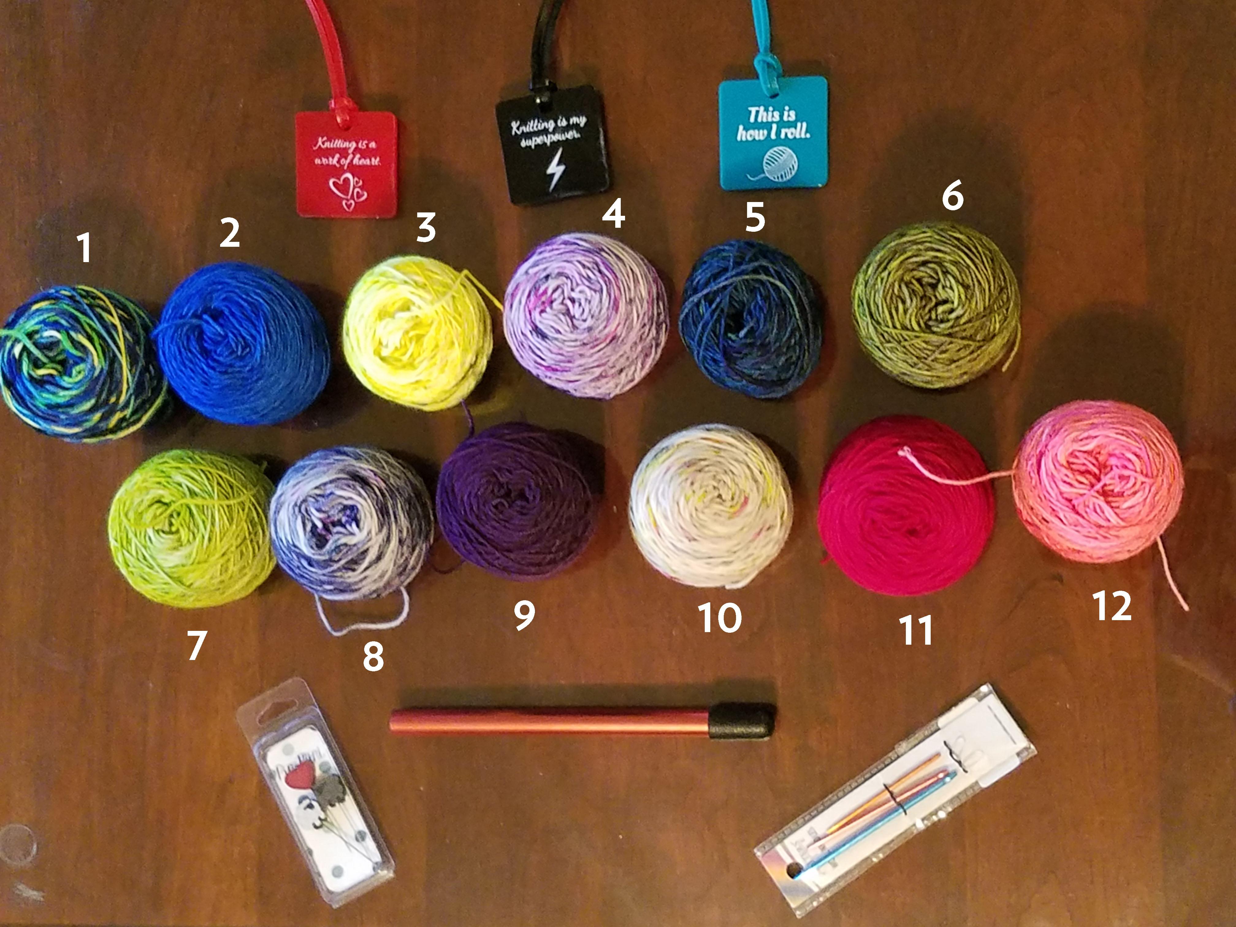 yarn calendar