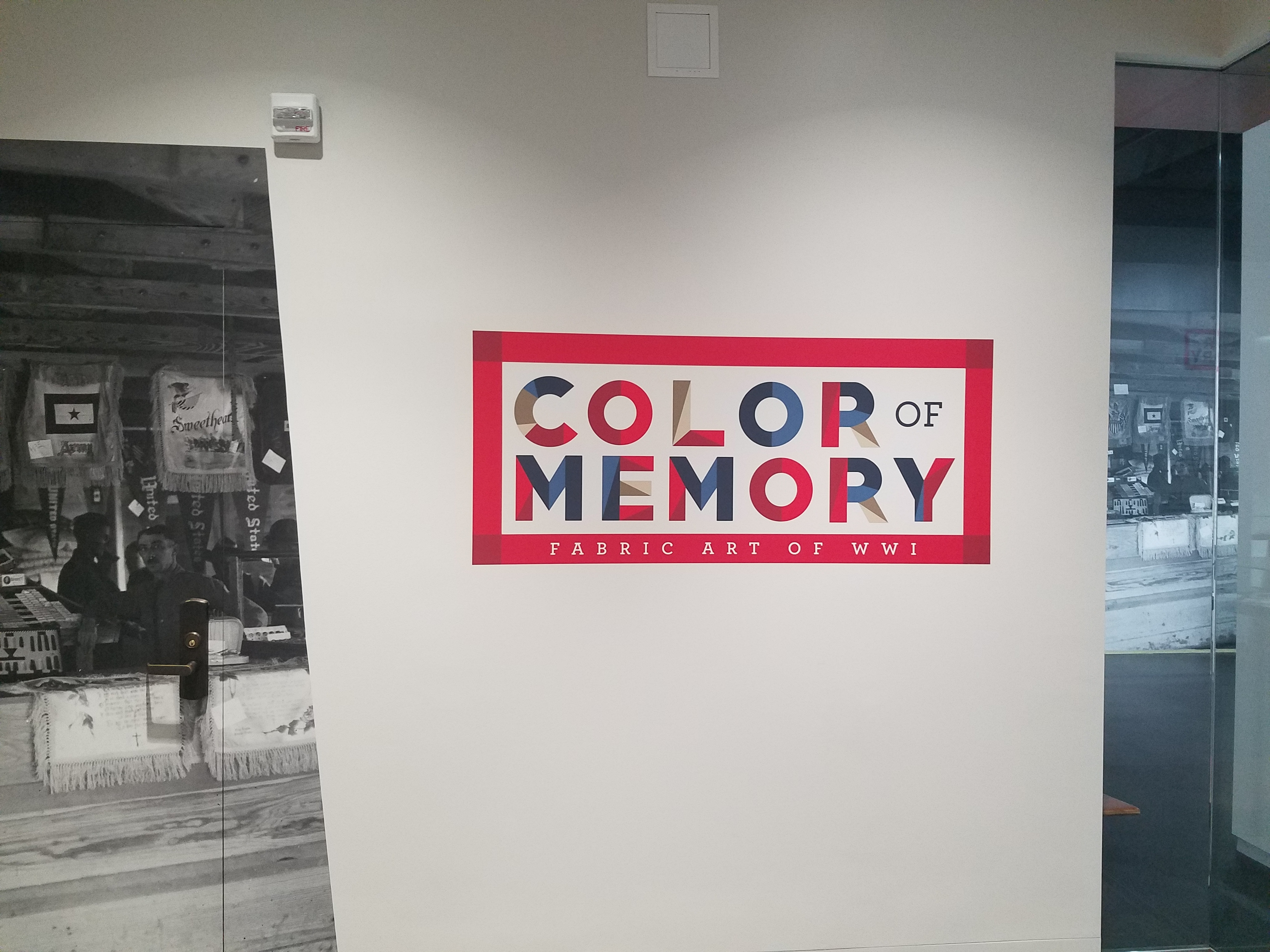 Color of Memory Exhibit at the WWI Museum