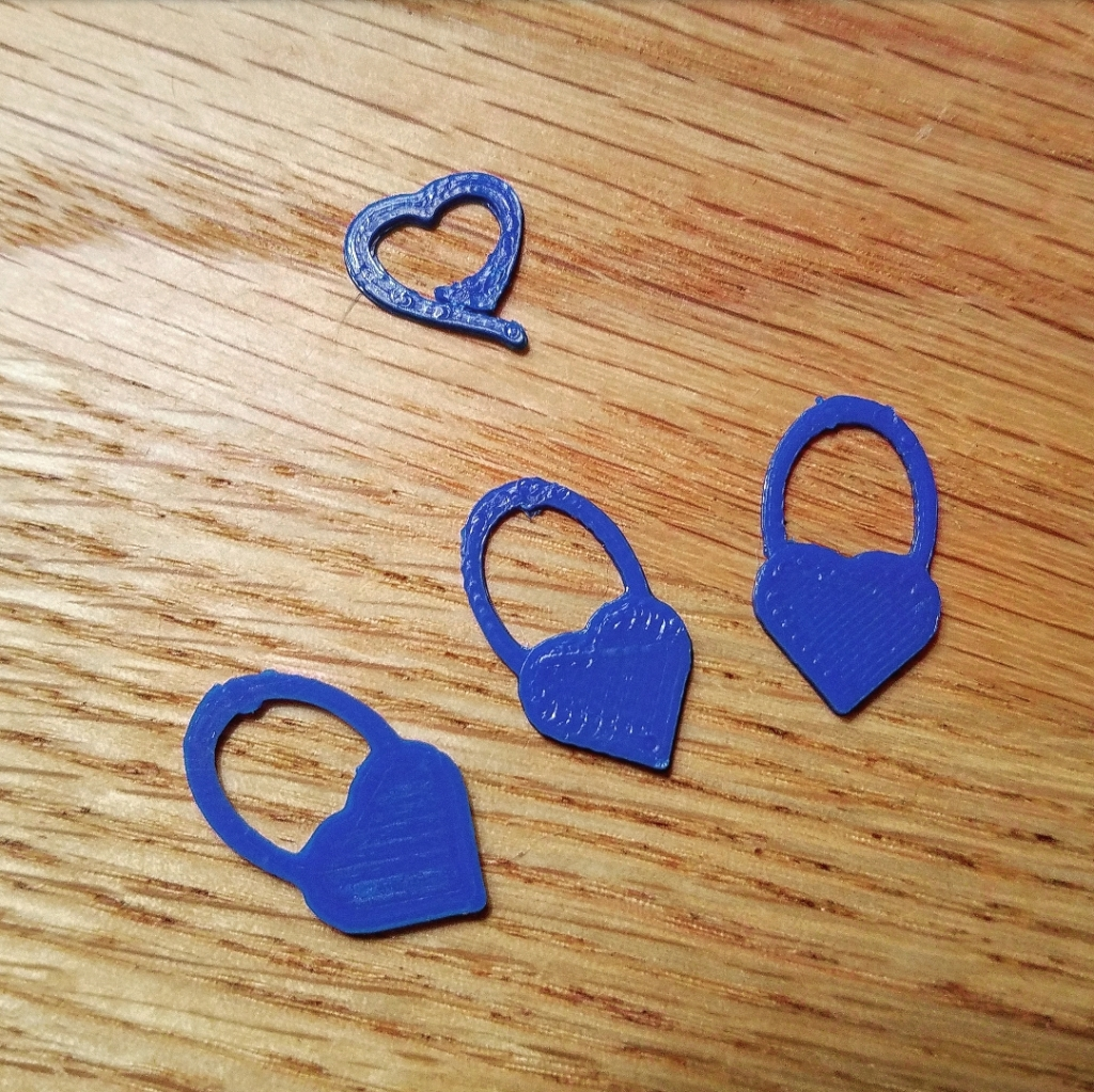 3D printed stitch markers