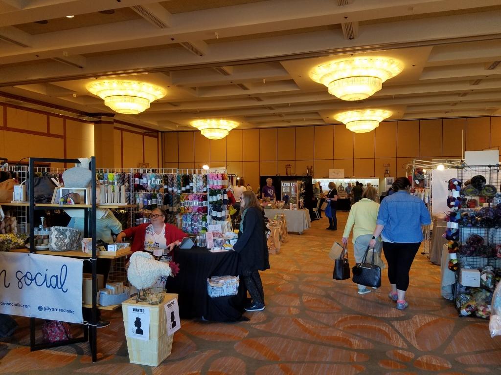 ply away vendor market ballroom