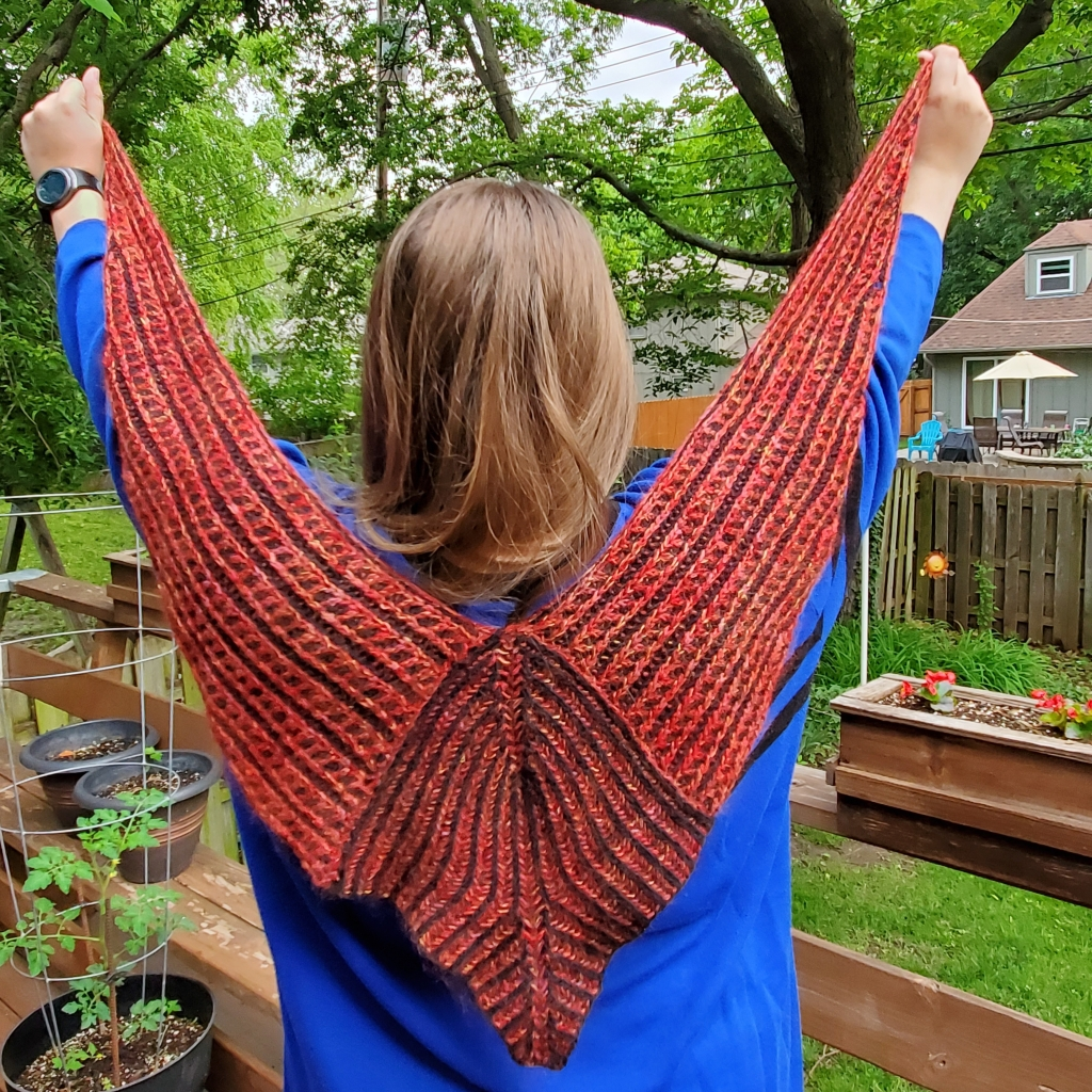 I knit and I know things MKAL wingspan