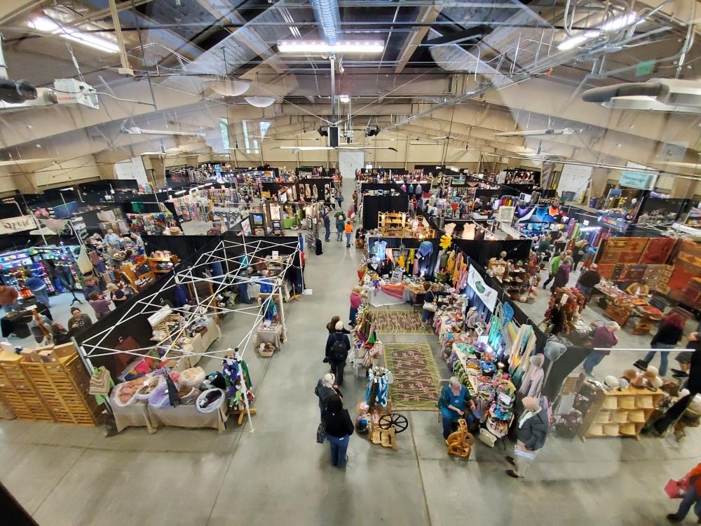 Estes Park Wool Market vendors