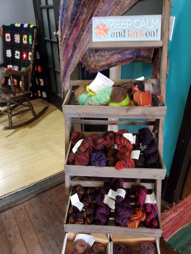 Cat Mountain Fiber Arts yarn