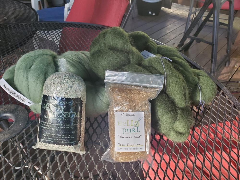 money art yarn materials