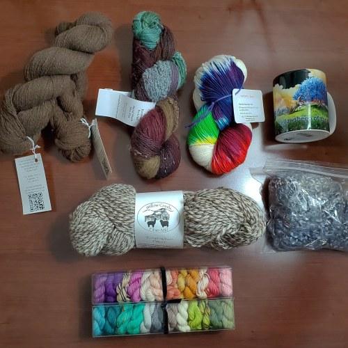 Estes Park Wool Market haul