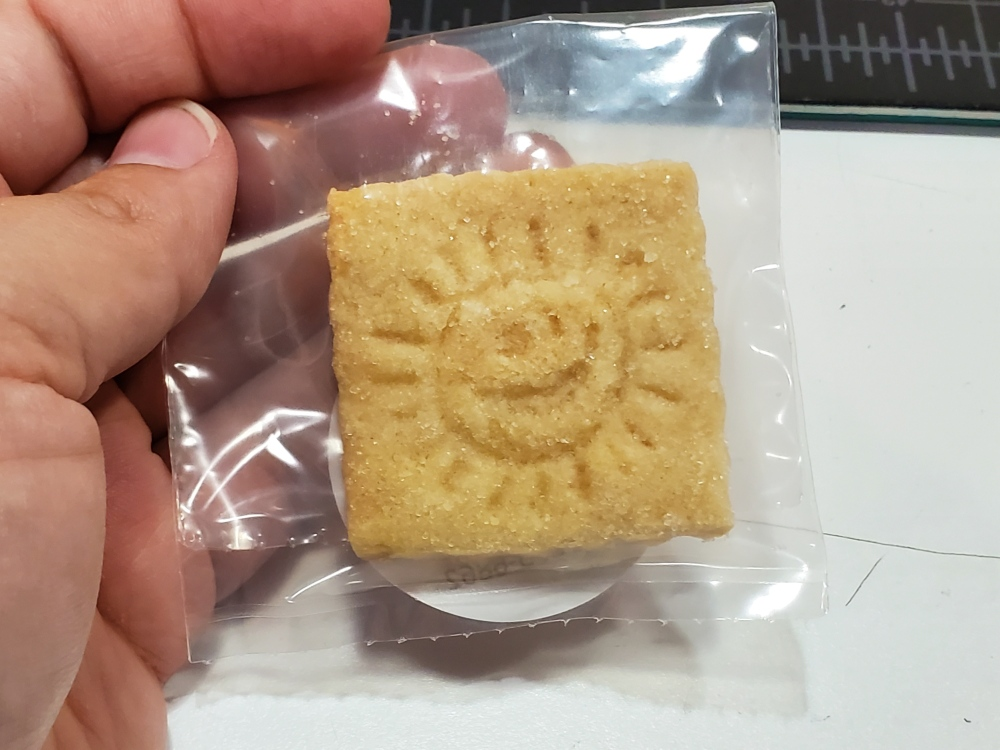 Helios shortbread cookie