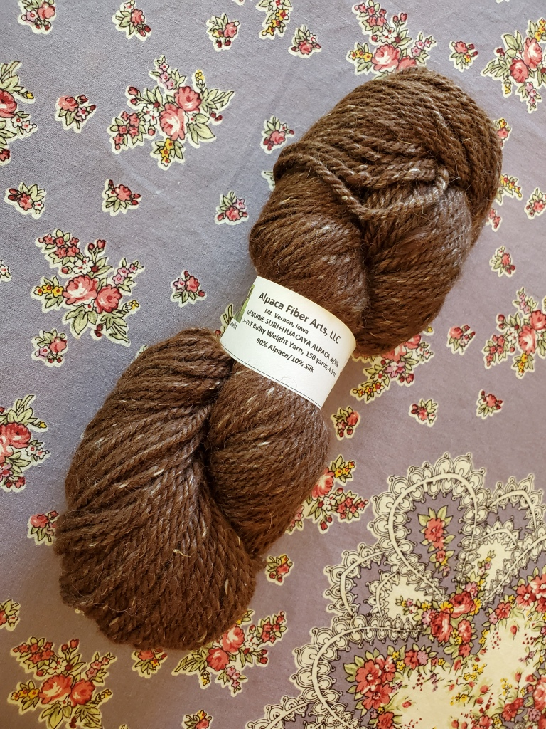 Alpaca Fiber arts yarn