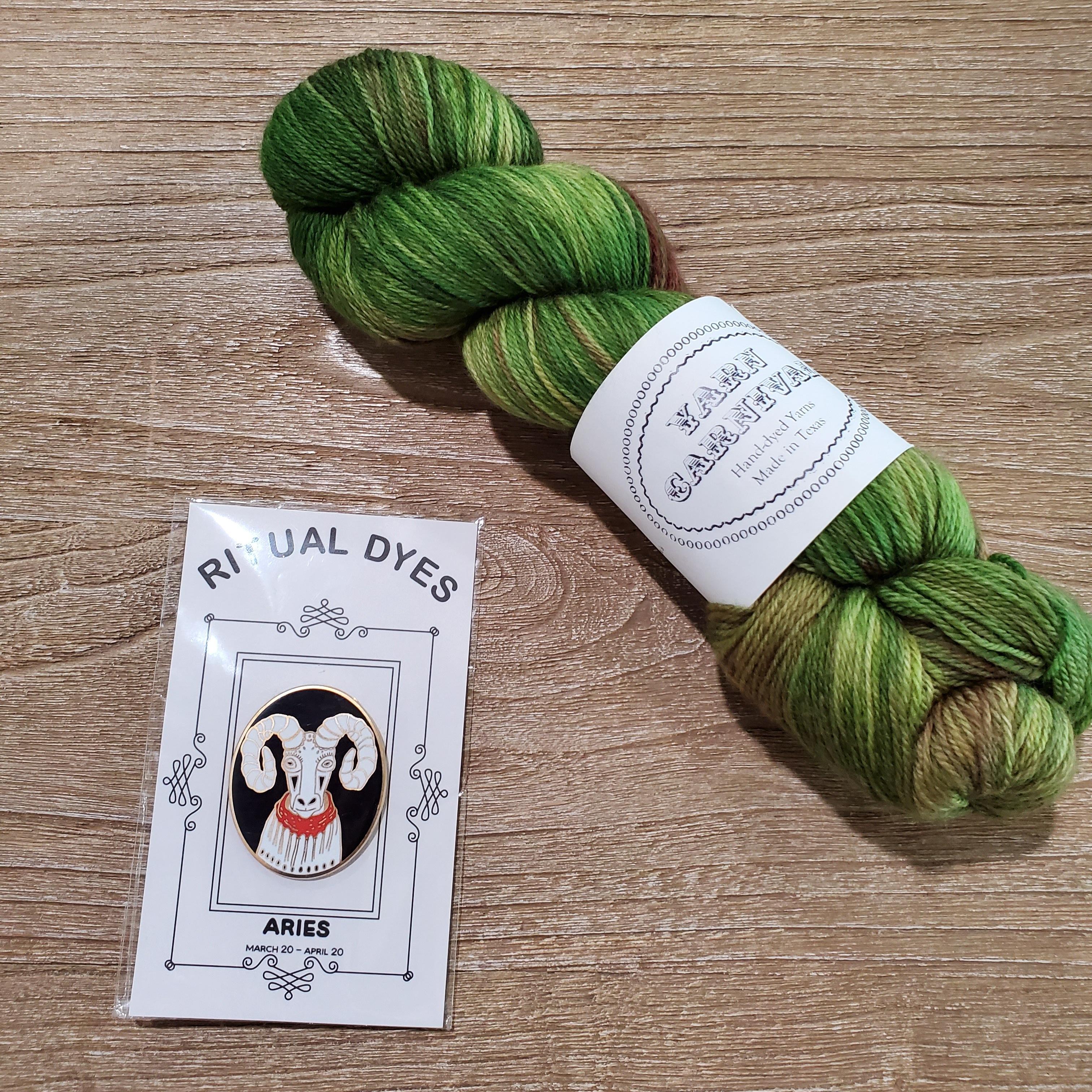 ritual dyes pin yarn carnival skein