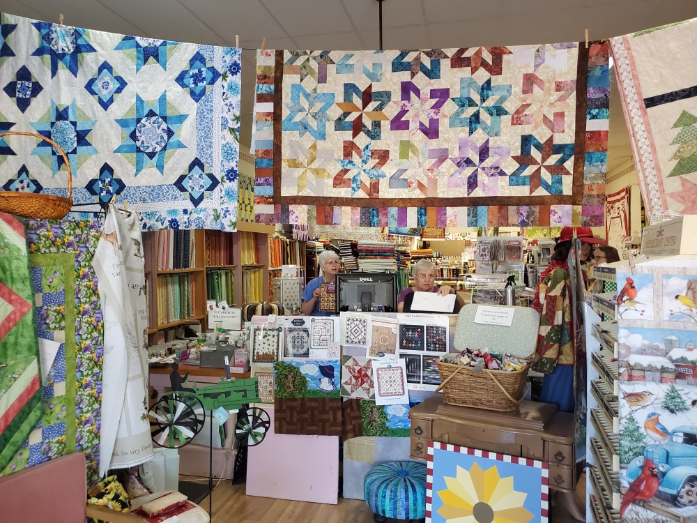 Quilter's Paradise fabric