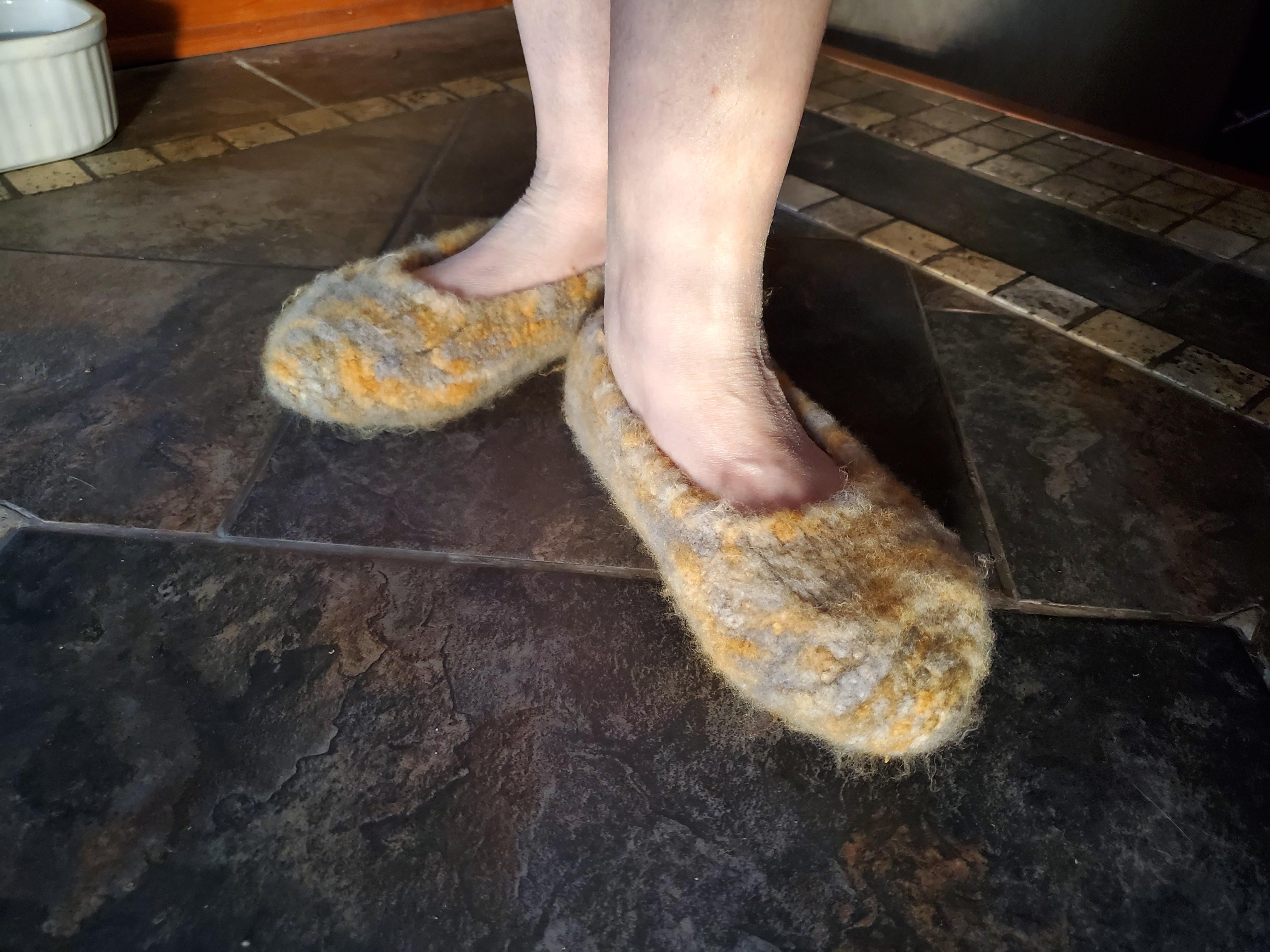 duffer felted slippers