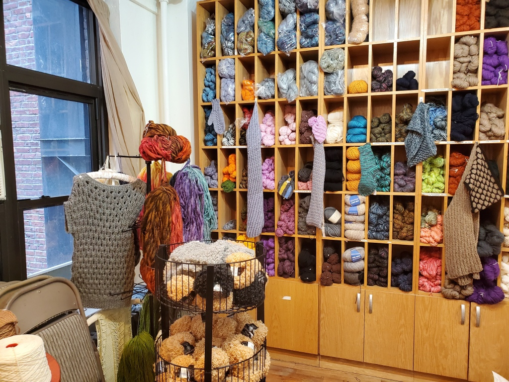yarn shelves in School Products Yarns