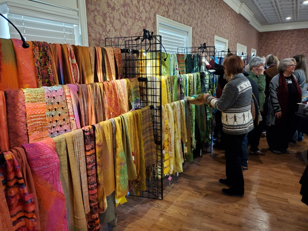 Scarves display