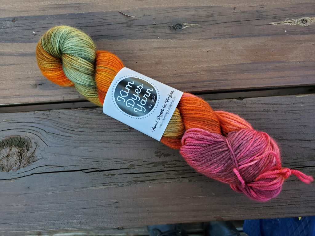 Kim Dyes Yarn Briar Rose