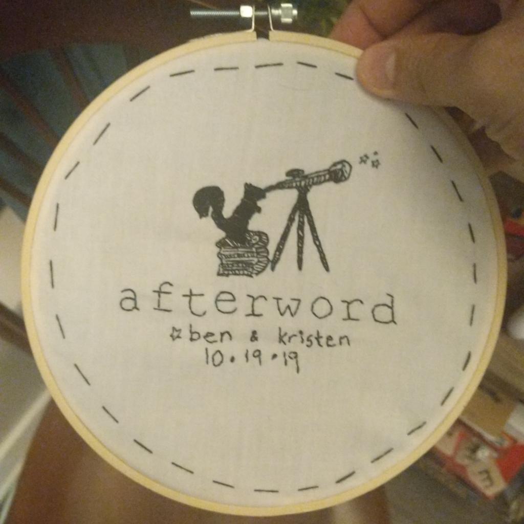 kristen's embroidery