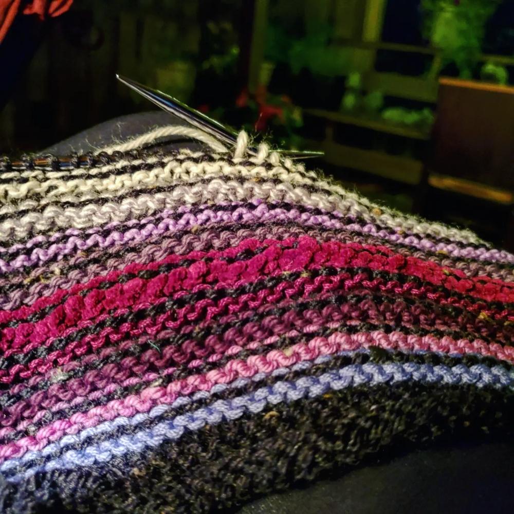In-progress Lunar Sweater