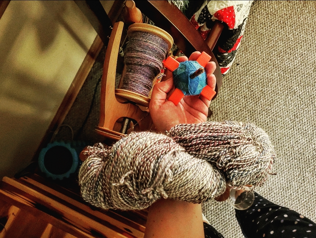Spin together Yarns